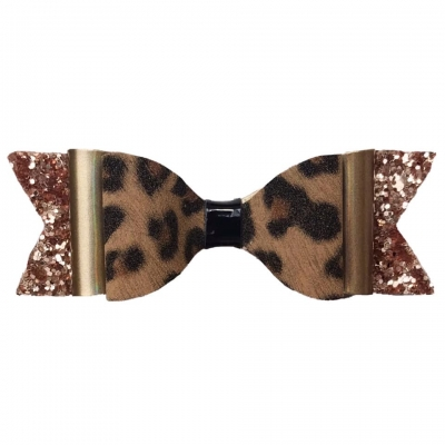 Hairbow - leopard